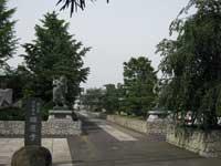 瑞応寺参道
