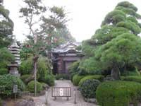 寶蔵寺境内