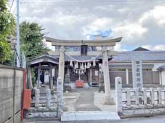 四ツ家稲荷神社鳥居