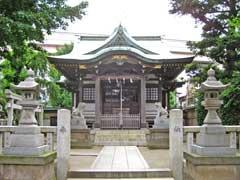 綾瀬神社拝殿