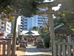 綾瀬稲荷神社鳥居