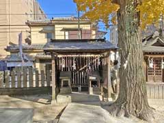 北野神社石祀型庚申塔