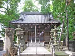 淵の宮氷川神社鳥居と