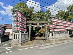 大鷲神社参道
