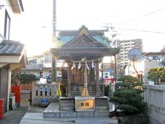 平野神社拝殿