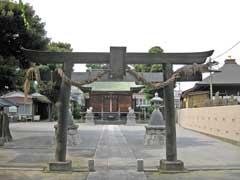 堀之内氷川神社鳥居