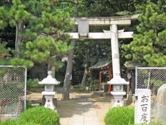 入谷氷川神社鳥居