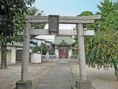 加賀稲荷神社鳥居