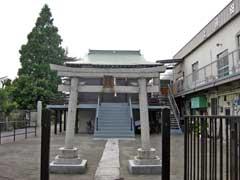 上沼田北野神社鳥居
