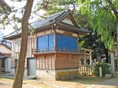 栗原氷川神社拝殿