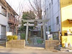 出戸八幡神社鳥居