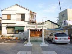 本木熊野神社鳥居