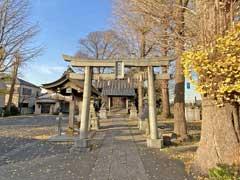 中川氷川神社鳥居