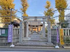 長門八幡神社鳥居