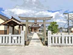 西加平神社鳥居