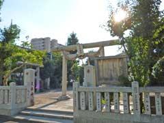 小台天祖神社鳥居