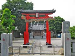 扇三嶋神社鳥居
