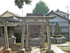 扇三嶋神社第六天社