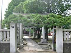 六月八幡神社鳥居