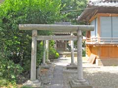 六月八幡神社境内社