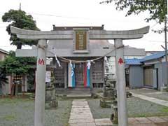 柳野神社鳥居