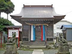 柳野神社拝殿