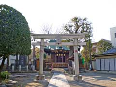 関原八幡神社鳥居