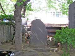 千住氷川神社正木櫟蔭事績碑
