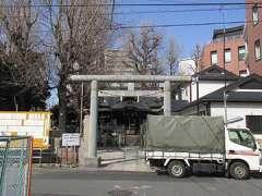 橋戸稲荷神社鳥居