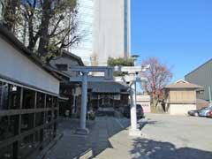 元宿神社鳥居