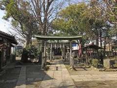 大川町氷川神社鳥居