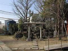 大川町氷川神社富士塚