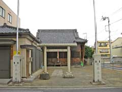 東北野神社鳥居