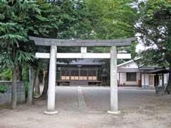 糀屋氷川神社鳥居