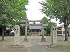島氷川神社鳥居