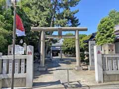 竹塚神社鳥居