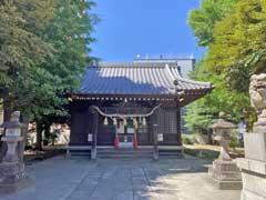 竹塚神社拝殿