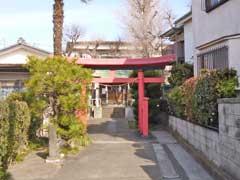 辰沼稲荷神社鳥居