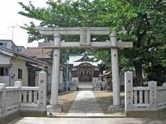 蒲原神社鳥居