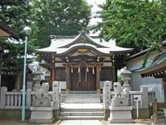蒲原神社拝殿