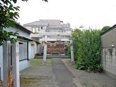 椿日枝神社鳥居