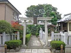 上谷中稲荷神社鳥居