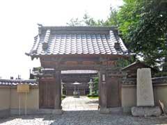常楽寺如意門
