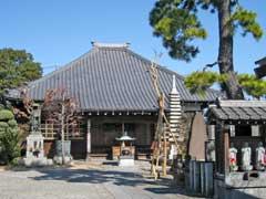 長性寺本堂