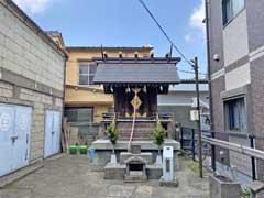 神々森猿田彦神社拝殿