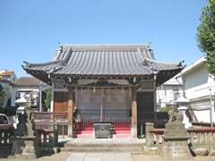 原稲荷神社拝殿