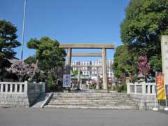 石浜神社鳥居
