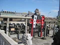 石浜神社白狐社