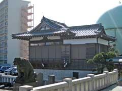 石浜神社神楽殿