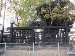 旧寛永寺の黒門
